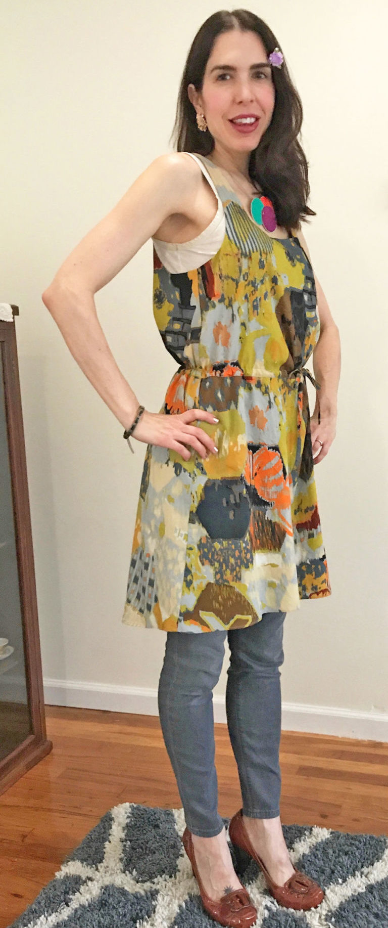 gallery-1496255383-day-2-dress-and-jeans