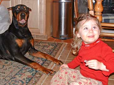 doberman-pincher-caesar-with-child3