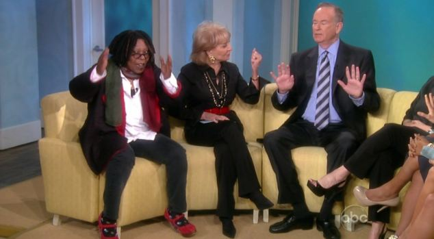 """Bill O'Reilly on """"The View"""""""