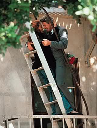 pretty woman- ladder