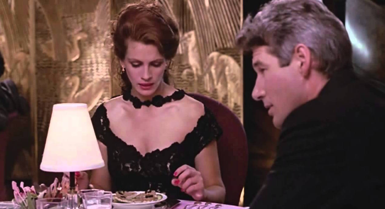 pretty woman- restaurant